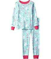 Hatley Kids - Arctic Party Long Sleeve Pajama Set (Toddler/Little Kids/Big Kids)