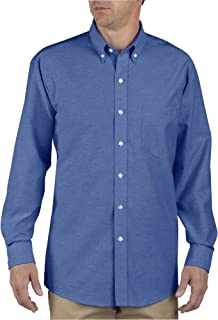 SS36 Button-Down Oxford Shirt - Long Sleeve, Size: 16.5 x Regular, Color: French Blue
