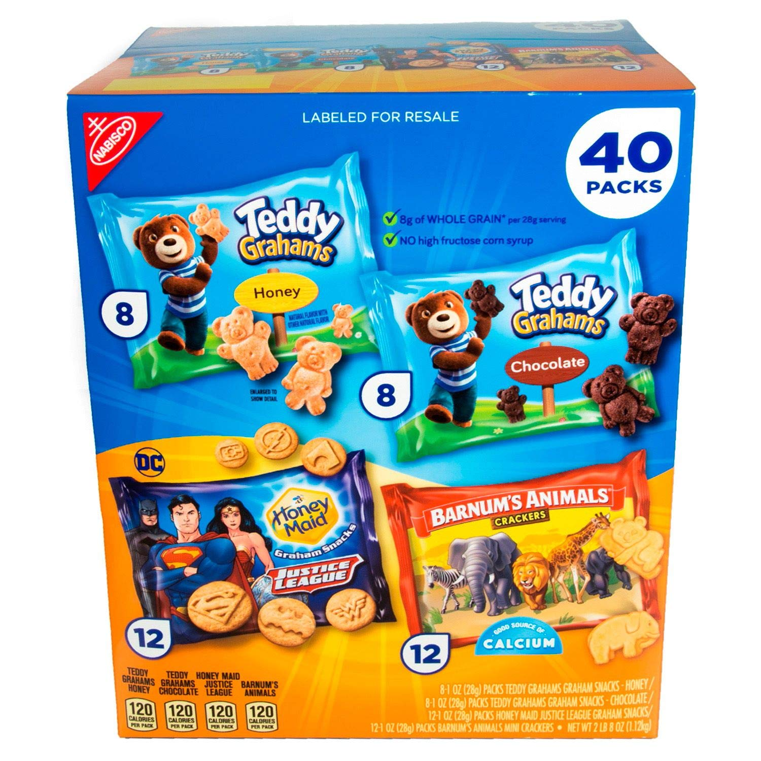 Nabisco Fun Shapes Snack Cookies Variety 3 pk. Pack of pack 40 1 year warranty Surprise price