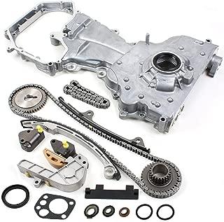 Brand New TK10060OP (164 Links) Timing Chain Kit and Oil Pump Set For 2002-06 Nissan Altima Sentra 2.5L QR25DE
