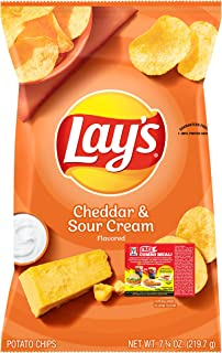 Lay's Cheddar and Sour Cream Potato Chips, 184.2g