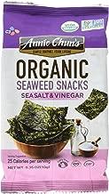 Annie Chun's Organic Seaweed Snacks, Sea Salt & Vinegar, 0.35 oz (Pack of 12), America's #1 Selling Seaweed Snacks