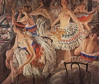 Zinaida Serebriakova Ballet Dressing Room (Also Known as Big Ballerinas) 1922 Private Collection 30