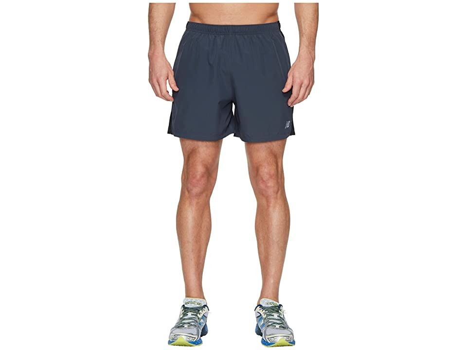 New Balance Accelerate 5 Shorts (Thunder/Black) Men