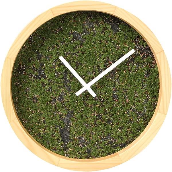 究竟是什么草挂钟圆形木框月直径