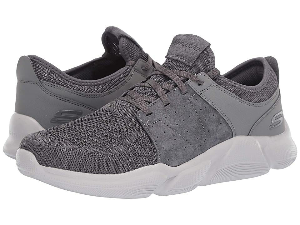 c847f2f5924 SKECHERS Drafter Wellmont (Gray Charcoal) Men s Shoes