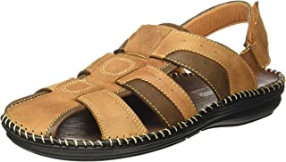 Action Shoes Men's Leather Sandals