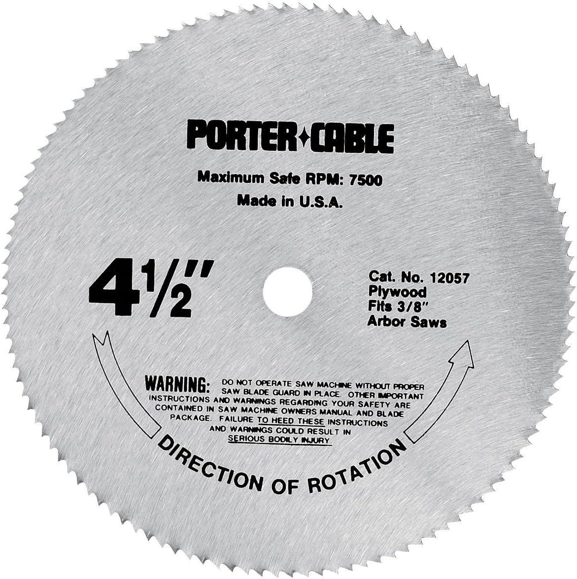 PORTER-CABLE 4-1/2inch Circular Saw Blade