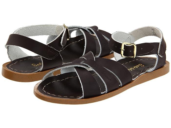 Salt Water Sandal by Hoy Shoes  The Original Sandal (Toddler/Little Kid) (Brown) Kids Shoes