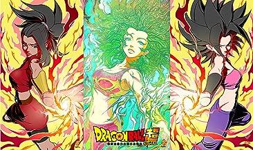 HiddenSupplies.com Dragon Ball Z Super Girls Playmat TCG Gaming Mat 24 x 14 Inch