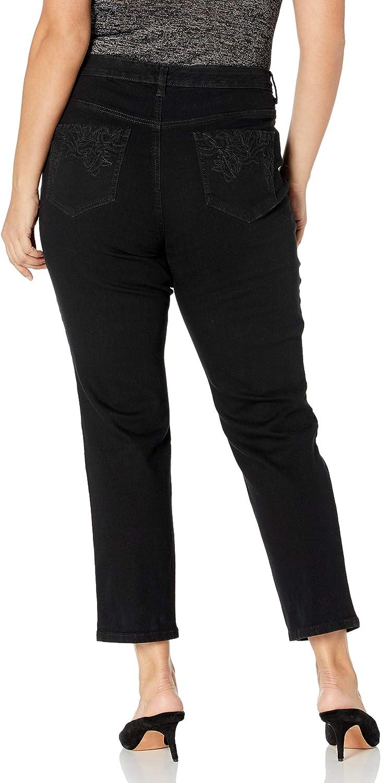 Gloria Vanderbilt Women's Amanda Slim High Rise Jean