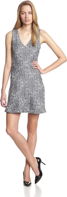 Joie Women's Norton Cotton Blend V-nk Fit & Flare S/l Dress