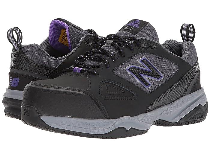 New Balance  627v2 (Black/Purple) Womens Cross Training Shoes