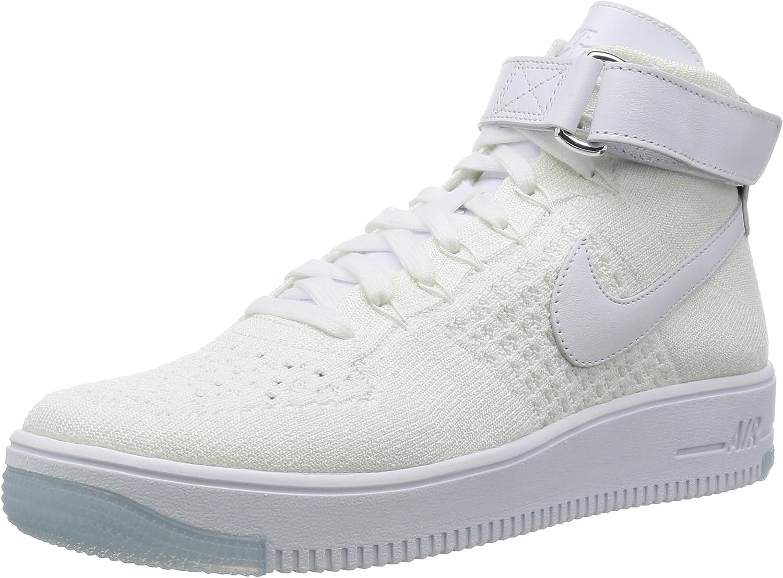 Nike Air Force 1 Ultra Flyknit Mid Triple White