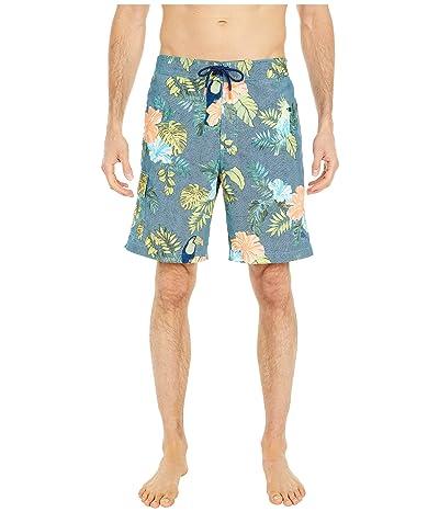 Tommy Bahama Baja Sir Tweets A Lot Swim Trunks (Ocean Deep) Men