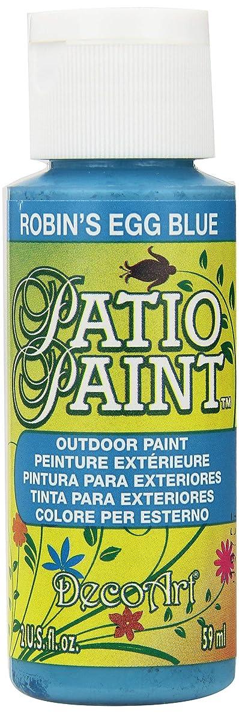 DecoArt Patio Paint, 2-Ounce, Robin's Egg Blue