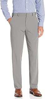 Men's 4-Way Stretch Temp Control Straight Fit Dress Pant