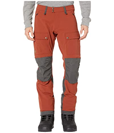 Fjallraven High Coast Stretch Trousers (Autumn Leaf/Stone Grey) Men
