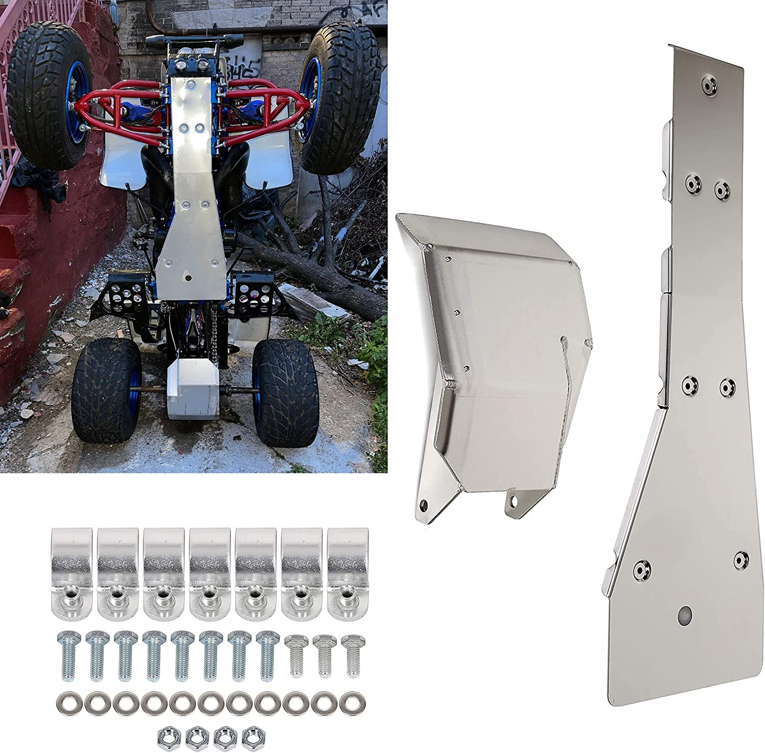 KUAFU Swing Arm Skid Plate Glide Chassis Full 2021 Compatible Guard Be super welcome