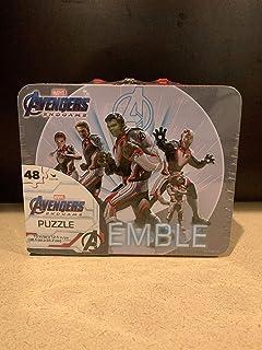 Marvel Avengers Endgame Puzzle Tin Lunchbox - 48 Pieces