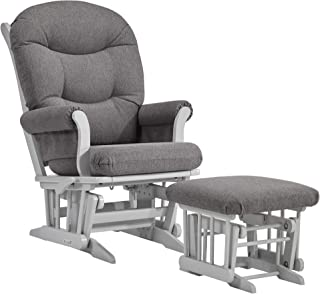 Dutailier Adele 0366 Glider Multiposition-Lock Recline with Ottoman