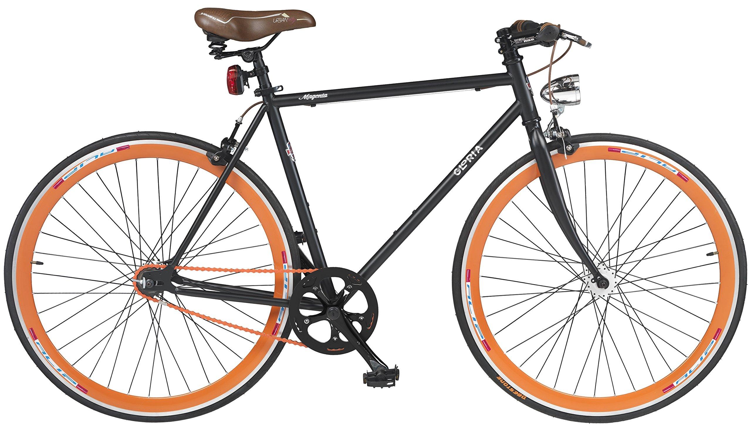 28 pulgadas Gloria Magenta Fixie Bicicleta: Amazon.es: Deportes y ...