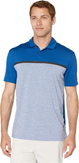 8ca9d0b0 Nike Golf. TW Dry Vapor Stripe Block Polo. $85.00. Gym Blue/Pure