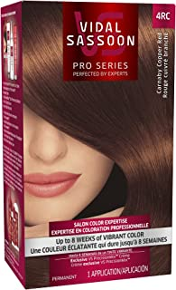 Vidal Sassoon Pro Series Hair Color, 4RC Dark Copper Red, 1 Kit