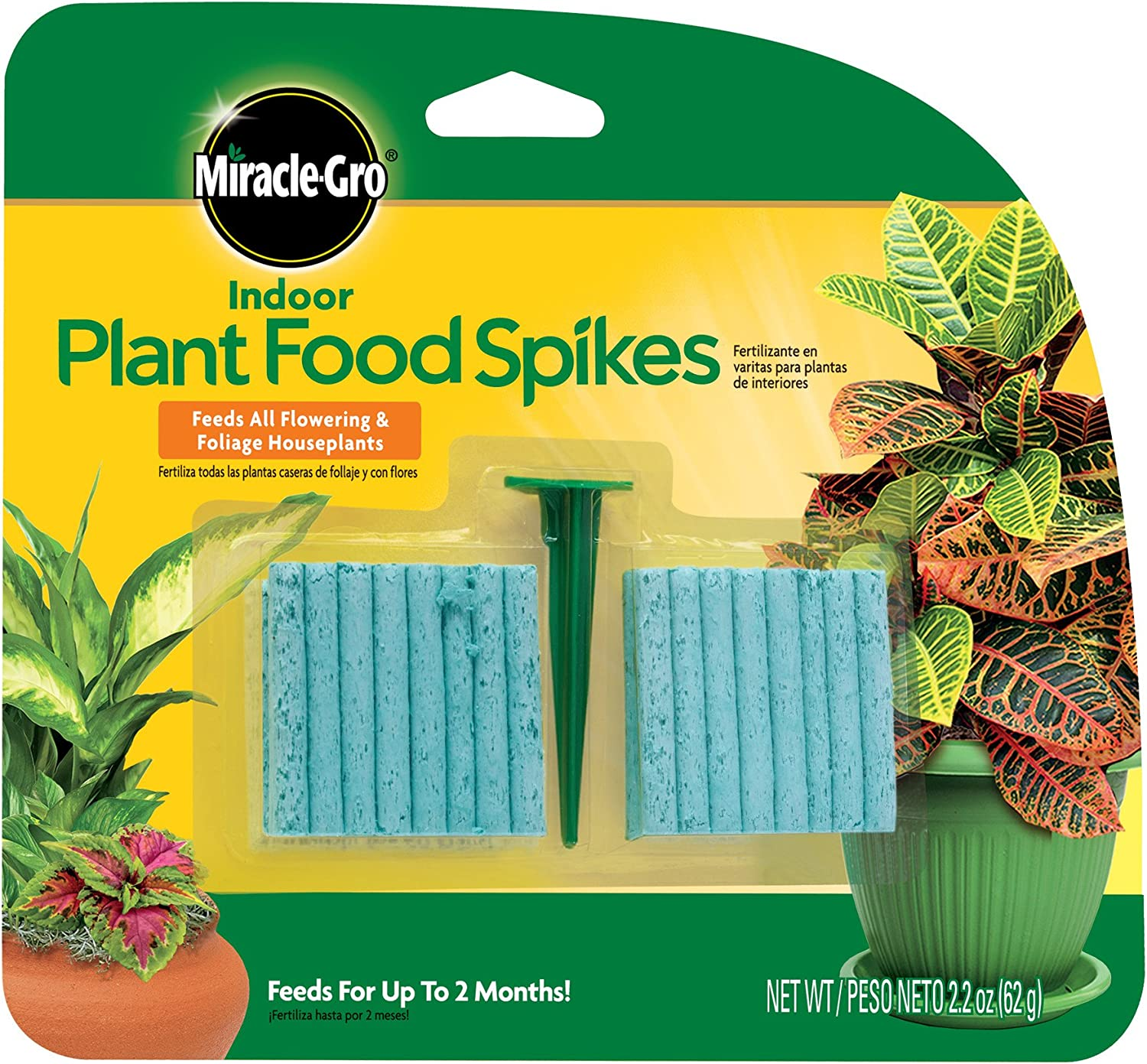 Miracle-Gro 48-Spikes Indoor Plant Food