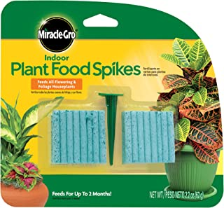 Miracle-Gro 300157 Plant Food, 48-Spikes Indoor...