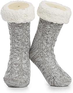 Calcetines Calentitos Andar Por Casa | Calcetines Super Suaves De Punto | Calcetines Gruesos Para Hombre Y Mujer Unisex 35-40