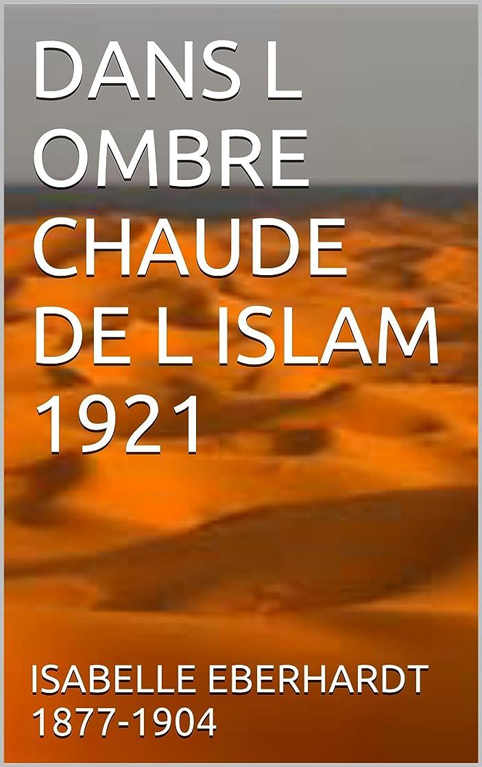 宇宙船湿原手書きDANS L OMBRE CHAUDE DE L ISLAM 1921 (French Edition)