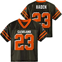 Joe Haden Cleveland Browns Brown Youth Player Home Jersey