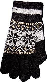 Highwaypay Touchscreen Texting Gloves Outdoor Men`s/Women`s warm Knit Winter Gloves