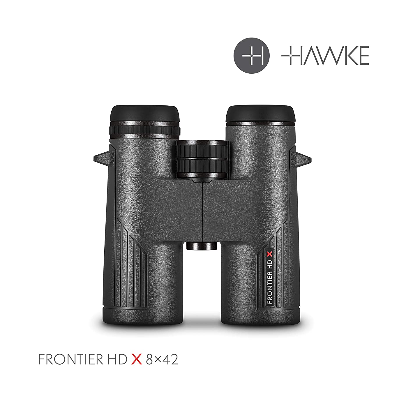 Hawke Sport Optics Frontier HD X 8x42 Binocular, Grey, 38011