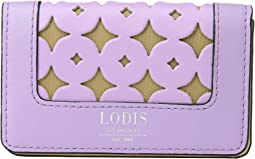 Lodis Accessories Laguna Perf RFID Mini Card Case