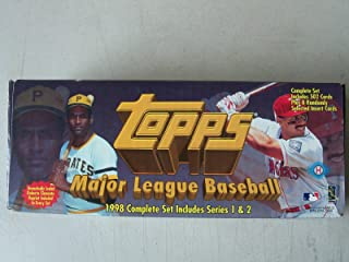 1998 Topps Baseball Factory Opened Set Complete 502 Cards Plus Insersts