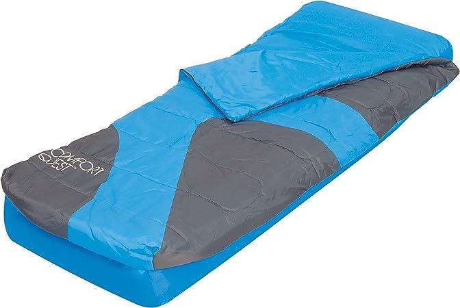 Bestway 67434 - Set Colchón Hinchable Aslepa Airbed (Individual) 185x76x22 cm