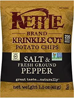 Best sea salt and cracked pepper kettle chips Reviews