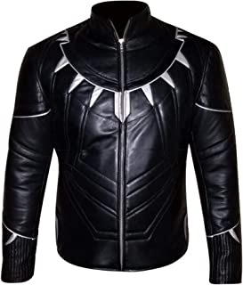 So Shway Mens Black Motorcycle Leather Jacket