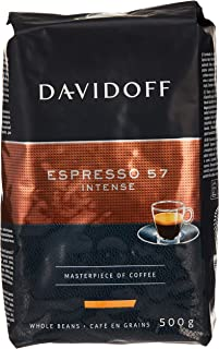 Davidoff Cafe Espresso 57 Whole Beans Coffee, 500 g