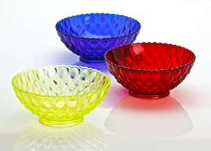 "product image for 10.25"" Cobalt Blue Glass Elizabeth Pattern Centerpiece Serving Bowl"