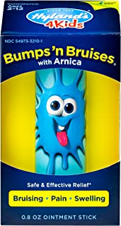 Kids Bumps n Bruises Stick by Hyland's 4Kids, Natural Relief of Bruising, Pain and Swelling for Children, 0.8 Ounce