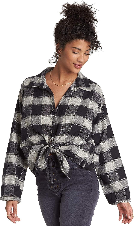 Billabong Women's Long Sleeve Woven Top