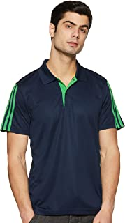 Adidas Men's Plain Regular Fit Polo