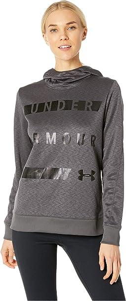 Synthetic Fleece Pullover Wordmark