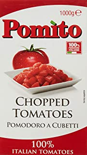 Pomi Chopped Tomatoes, 1000 gm (Pack of 1)