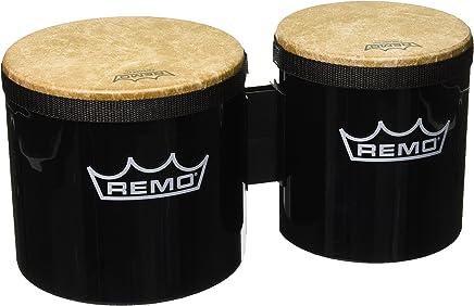 """Remo BG-5300-70 Festival Bongo Drum - Black, 6""""-7"""""""