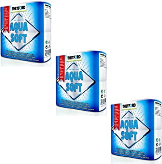 Thetford Aqua, 3 Stück, 12 Rollen, chemischen Toiletten Papier für Wohnwagen
