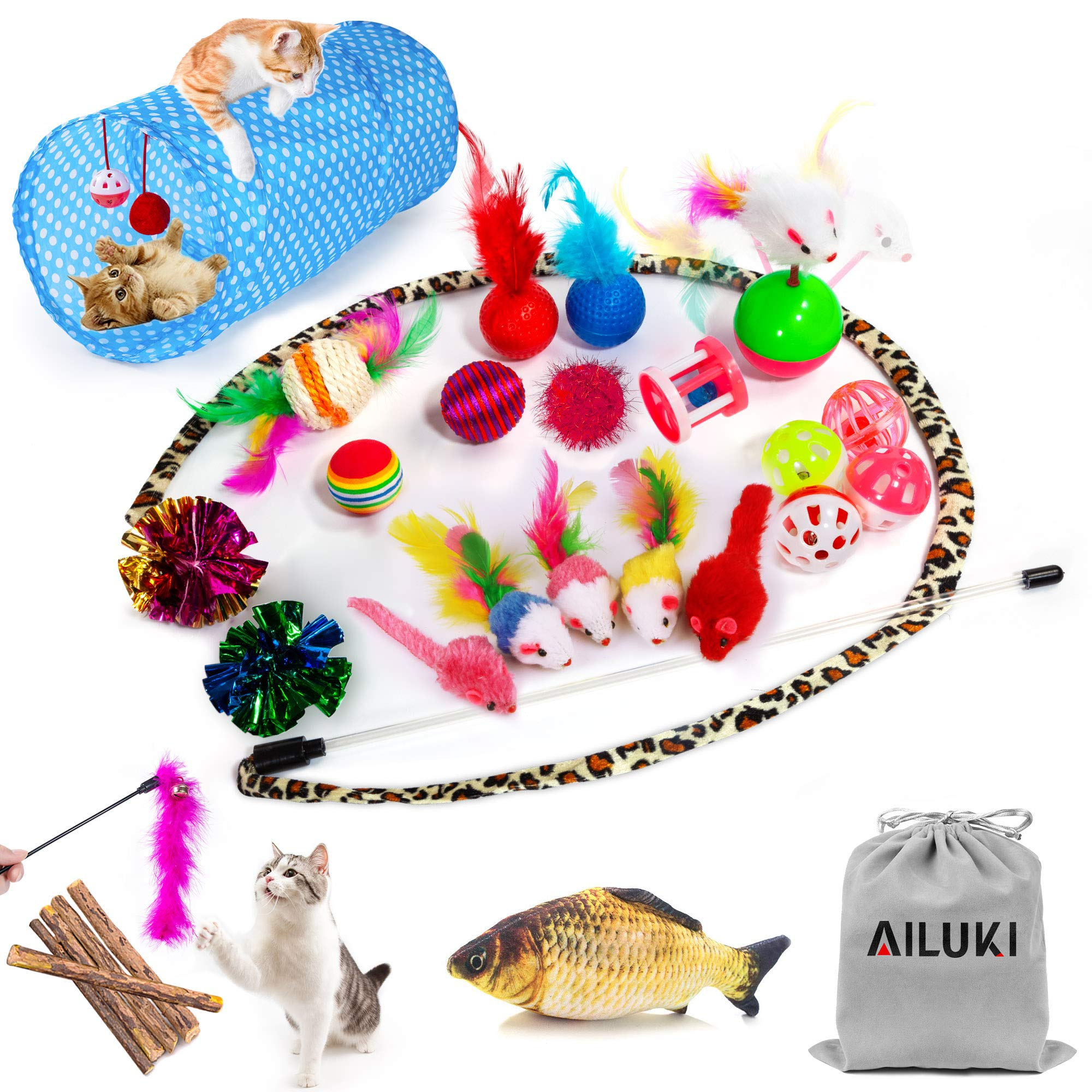 AILUKI Assortments Variety Including Colorful